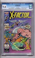 "X-Factor #7 CGC 9.8 WP""1st App..Skids..Bulk..Glow Worm..& T.T.! Frenz Cover!"