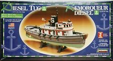 Lindberg 77221 Diesel Harbor Tug Boat model kit 1/87
