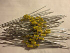 50PCS ERIE 8005 .005UF-50V AXIAL LEAD GLASS SEALED MONOBLOC CAPACITOR