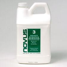 NOVUS #3 - Fine scratch remover 64oz jug bottle Great for Pinball - Free US Ship