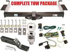2003-2019 CHEVY EXPRESS VAN COMPLETE TRAILER HITCH TOW PACKAGE CLASS 3 RECEIVER