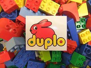 Lego DUPLO *JUST BRICKS* starter set 500g CLEAN 1/2KG mixed bag PIECES BLOCKS