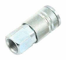 Forney  Steel  Air Coupler  3/8 in. Female  NPT  1 pc.
