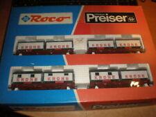 Roco 44008 Circus Krone Set /Preiser 30725 im OKT 1:87