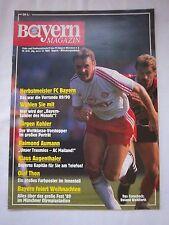 Orig.PRG   1.BL   1989/90   FC BAYERN MÜNCHEN - BORUSSIA MÖNCHENGLADBACH  !!