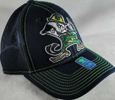 LZ Adidas Adult Fitted S/M Notre Dame Fighting Irish Baseball Hat Cap NEW D47