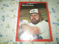 LARRY PARRISH   POSTER(3)  8 BY 11 MONTREAL EXPOS 1980