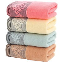 Quick Dry Cotton Plaid Bath Towel Bath Gym Towel Family Bathroom 34*74 Lot