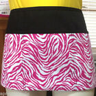 Black zebra 3 pocket waist aprons server waitress waiter bistro apronattitudes