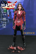 1/6 Scarlet Witch Figure Full Set Captain America Civil War For Hot Toys ❶USA❶