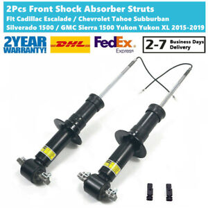 Pair Front Shock Strut For GMC Yukon Cadillac Escalade Chevrolet Tahoe Electric