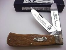 CASE Classic Nascar Terry Labonte Jumbo Trapper Knife