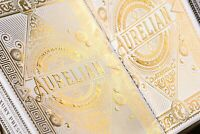 Bicycle Ellusionist White Aurelians Roman Gold Foil US Playing Cards Magic Poker