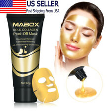 24K Gold Collagen Peel Off Mask Anti-Wrinkle Anti-Aging Facial Mask for Firming