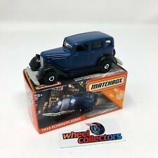 1933 Plymouth Sedan * 2020 Matchbox Power Grabs Case T