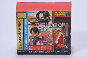 The King of Fighters Best Collection KOF 95 96 97 Rare Japan Import SEGA Saturn