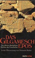 DAS GILGAMESCH EPOS - Hermann Ranke - BUCH