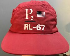 Vintage Polo Ralph Lauren P2 Hat 1993 USA Stadium Cap L/XL