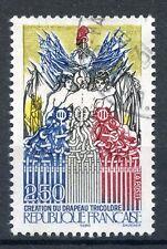 STAMP / TIMBRE FRANCE OBLITERE N° 2669 REVOLUTION / CREATION DU DRAPEAU