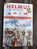NEU Programm Fanzine Helmut DFB Deutschland vs. Schweden - FIFA WM 2018 Russland