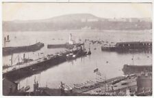 SCARBOROUGH HARBOUR - Yorkshire - Edwardian 1900s era postcard