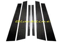 For 07-13 Mercedes S-Class W221 Carbon Fiber Door Trim Pillar Panel S350 65 AMG