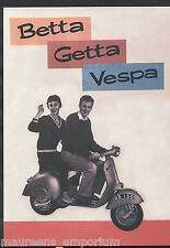 Advertising Postcard - Betta Getta Vespa - Scooters & Bikes Series  BT784