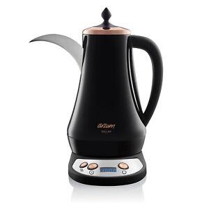 Arzum Dallah Electrical Arabic Coffee Maker, 1300 W, 1.3 liters, Black
