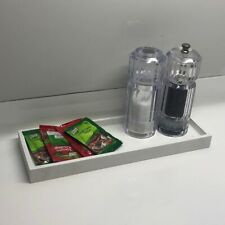 Hotel Amenities Melamine Display Tray, Present Complimentary Items, Toiletries