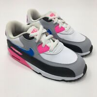Nike Air Max 90 #833379-107 Girls Toddler Size 10C Athletic Shoes Pink