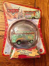 Mattel Disney Pixar Cars FUEL TIDE CHEER FILLMORE Christmas Car Ornament
