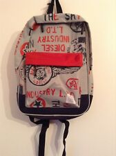 BNWT 100% Auth Diesel Rucksack / Bag / Backpack Children's / Kids. RRP$50
