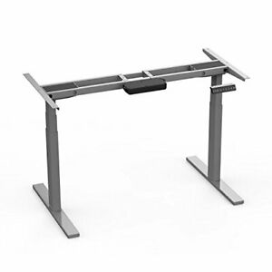 Electric Height Adjustable Desk Frame 3-Stage Home Office Stand up