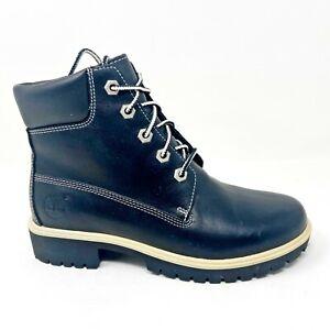 Timberland Womens Premium Chukka 5 Inch Boots Black Leather 23332
