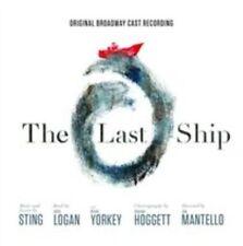 THE LAST SHIP [ORIGINAL BROADWAY CAST RECORDING] like new