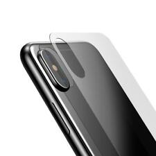 iPhone X Back Rear Door High Quality Clear Tempered Glass Screen Protector