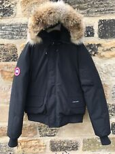 Mens Canada Goose Chilliwack Bomber Jacket XL Coat GENUINE £775 Hood Fur Black