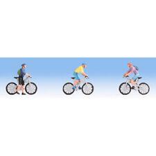 NOCH Mountain Bikers (3) Figure Set HO Gauge Scenics 15899