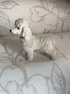 Gorgeous Vintage Weiß Pudel Deko Sammelobjekt Hund Schöne Figur