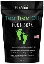 Tea Tree Oil Foot Soak with Epsom Salt  for Toenail Fungus, Athletes Foot, New
