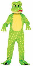 Adult Freddy the Frog Mascot Costume Animal Full Body Suit Size Standard