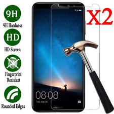 2-pcs!real Tempered Glass Screen Film Protector for Huawei Nova 2i /mate 10 Lite