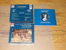 HÄNDEL - ALESSANDRO: JACOBS, KUIJKEN / GERMANY 3-CD-BOX 1987 (SONOPRESS)
