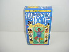 Richard Simmons Groovin in the House VHS Video Tape Exercise Fitness Workout
