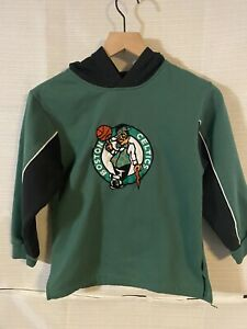 Boston Celtics Hoodie Boy's Small (8) Green Reebok