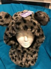 New Claire's Critter Hood Pullover Hat Plush Soft And Neck Warmer New With Tags