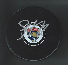 Seth Griffith Signed Florida Panthers New Logo Puck