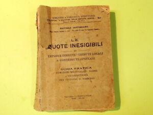 LE QUOTE INESIGIBILI SANTOMAURO CASINI 1933