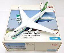 Herpa Wings 1:500 507752 LIBYAN AIR CARGO Antonov AN-124 5A-DKL - Die-cast Model