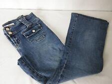 Younique Women's Size 5 Jeans Medium Blue Flap Pockets